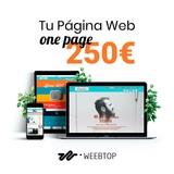 PÁgina web one page 250 - foto