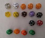Dados de 20 caras D20 colores a elegir - foto