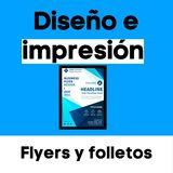 Impresión de flyers - foto
