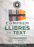 COMPREM LLIBRES DE TEXT - foto