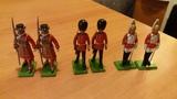 Conjunto de 6 soldaditos - foto