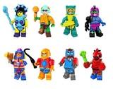 8 FIGURAS He-Man Masters del Universo (E - foto