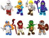 8 FIGURAS He-Man Masters del Universo - foto