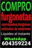 COMPRO FURGONETAS, CAMIONES, CARROZADOS - foto