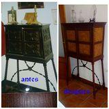 Pintura restauración - foto