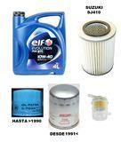 Suzuki sj410 kit cambio aceite y filtros - foto