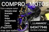 643477946 COMPRAMOS TU MOTO - foto