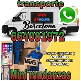 transporte envíos mudanzas - foto
