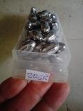 50 unidades plomos oliva 20 gr - foto