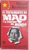 EL TESTAMENTO DE MAO – GÉRARD BOULAKIAN - foto