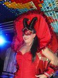 Drag queen  en las palmas despedidas - foto