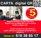 Carta Digital Qr- Digitalila  tu Negocio - foto