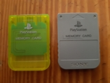 memory card de playstation 1 - foto
