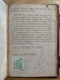 la Biblia de San Vicente Ferrer - foto