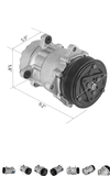 compresor A/C VW T4/LT... - foto