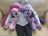 Peluche grande My Little Pony Pinkie Pie - foto