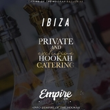 Catering privado de cachimbas en ibiza. - foto