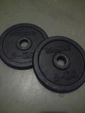 Discos de 2 kg para musculación - foto