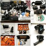 Completo equipo fotografía Nikon. - foto