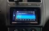 radio de coche de pantalla Pioneer - foto
