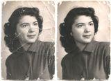 Restauración de imágenes antiguas - foto