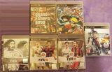 Se vende lote de juegos de play3 - foto