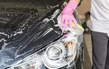 Limpieza de vehículos. - foto