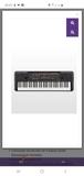 piano yamaha PSR E263 - foto