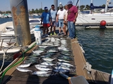 pesca en barco en Huelva - foto