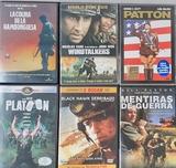 Pack 6 DVDs de Guerra - foto