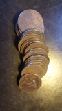 25monedas de diez centimos 1870     1878 - foto