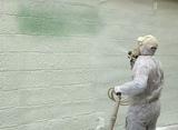 proyectado espuma poliuretano Inyeccion - foto