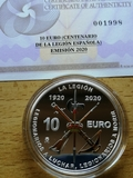 10 euros españa 2020 - legion española - foto