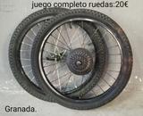 JUEGO RUEDAS MTB - 20X1. 95 - foto