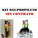 EQUIPO PROPILENO/OXIGENO -2 BOMBO 10 LIT - foto