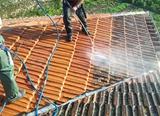 Lavado de tejados. (Alta presión) - foto