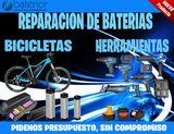 Reparación de baterías para bicicletas - foto