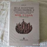 DE LA INDTITUCIO GOBERN POLITICH Y TVRID - foto