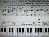 TOCA AL PIANO:  HIMNO DEL CÁDIZ (ME HAN D - foto
