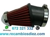 Mbx filtro admisiÓn directa rojo pequeÑo - foto