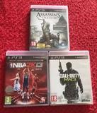 Pack de 3 juegos para la PlayStation 3 - foto