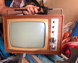 Televisor antiguo - foto