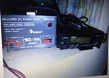 Emisora Yaesu FT-2400 y walkie-talkie - foto
