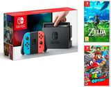 Nintendo Switch Consola 32Gb Azul/Rojo - foto
