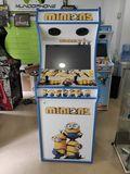 maquina arcade recreativa minions con vi - foto