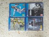 Conjunto de 4 video juegos de ps4 - foto