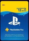 12 meses PlayStation plus - foto
