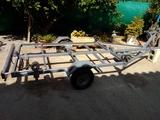 Carro de transporte de barco - foto