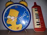 Reloj Simpson y dos Flautas, juguetes - foto