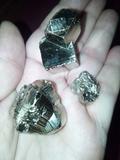 Cambio pirita por otro mineral - foto